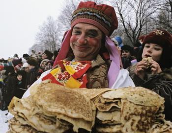 Празднование Масленицы. Фото РИА Новости