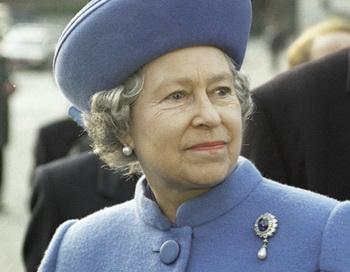 Королева Великобритании Елизавета II. Фото из архива РИА Новости