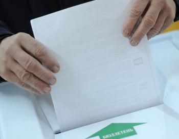 Избирательный участок. Фото РИА Новости