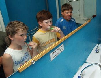 Детский отдых. Фото РИА Новости