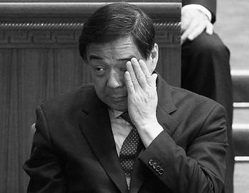 Бо Силай 13 марта в Пекине, за два дня до его смещения с поста секретаря коммунистической партии Чунцина. Фото: Lintao Zhang/Getty Images