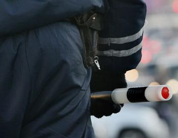 Работа сотрудников ГИБДД. Фото РИА Новости