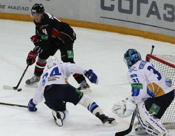 Хоккей. КХЛ. Матч