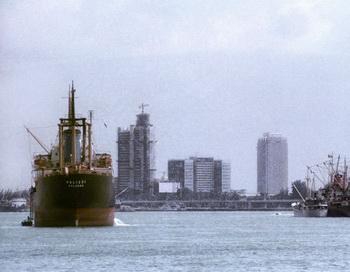 Порт Лагоса. Фото РИА Новости