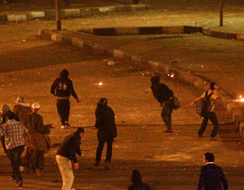 Столкновения в Египте. Фото РИА Новости