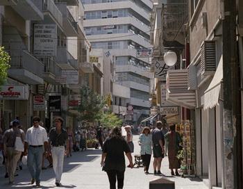 На улице города Никосии, Кипр. Фото РИА Новости