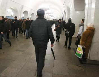 Вход и выход на станцию пушкинская
