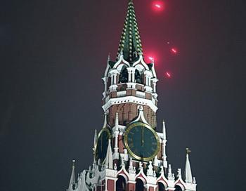 Новый год на Красной площади. Фото РИА Новости