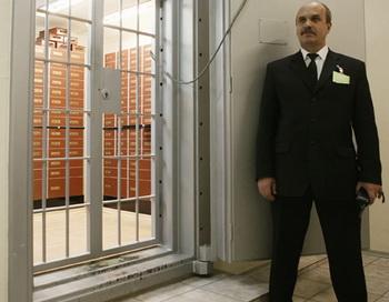 Охрана. Фото РИА Новости