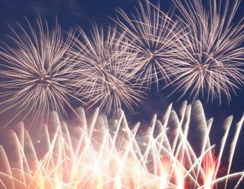 Новогодний фейерверк. Фото РИА Новости