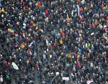 Митинг оппозиции «За честные выборы» в Москве. Фото РИА Новости