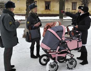 Поиски пропавшего ребенка. Фото РИА Новости