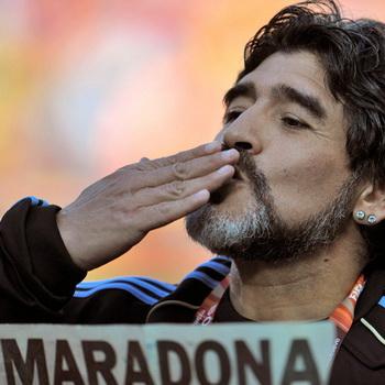 Аргентинский футболист Диего Марадона. Фото РИА Новости