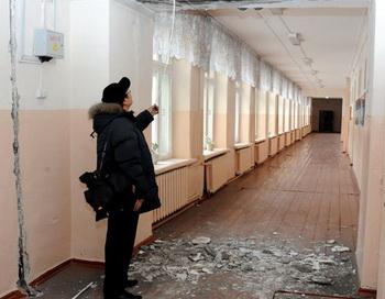 Последствия землетрясения в Туве. Фото РИА Новости