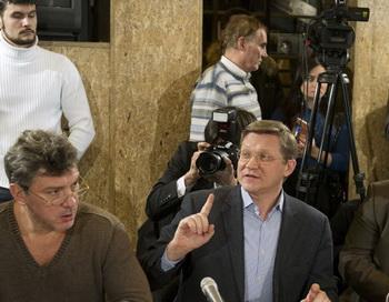 Заседание оргкомитета шествия 4 февраля. Фото РИА Новости