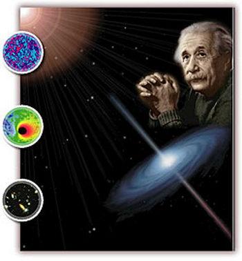 Век назад Альберт Эйнштейн начал работу над теорией относительности, объясняющей пространство, время и гравитацию. Фото: NASA