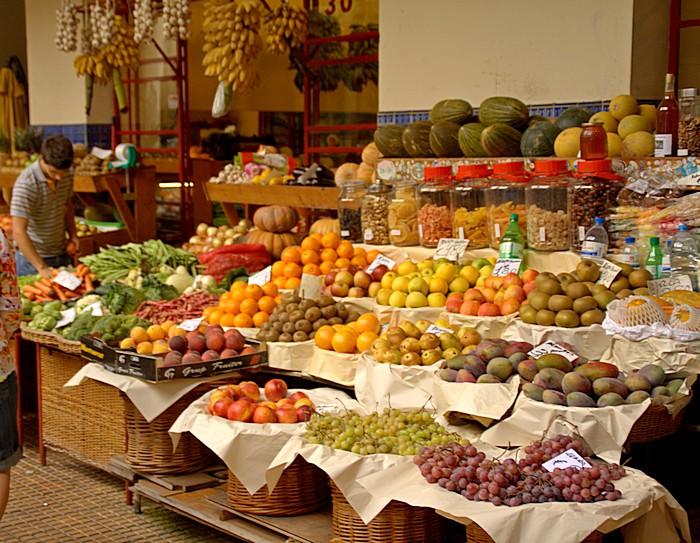Меркадо дос Лаврадорес. Рынок в Фуншале. (Funchal) Madeira. Фото: Сима Петрова/Великая Эпоха (The Epoch Times)