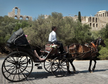 Российские туристы в Греции. Фото: Getty Images
