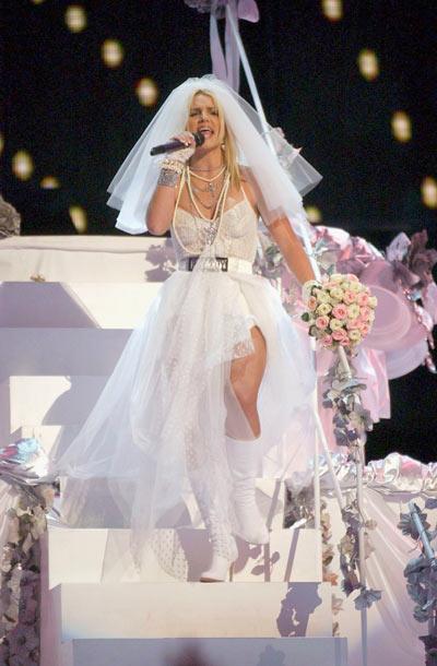 Бритни Спирс, 28 августа 2003. Фото: Getty Images