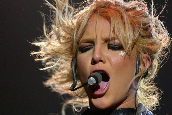 Бритни Спирс, 5 июня  2004. Фото: Getty Images