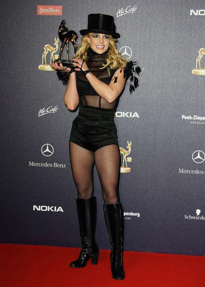 Бритни Спирс, 27 ноября 2008. Фото: Getty Images
