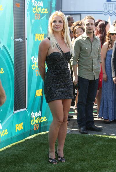 Бритни Спирс, 9 августа 2009. Фото: Getty Images