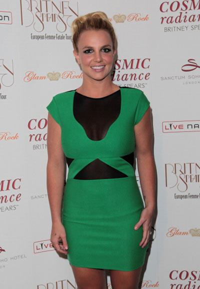 Бритни Спирс, 16 сентября 2011. Фото: Getty Images