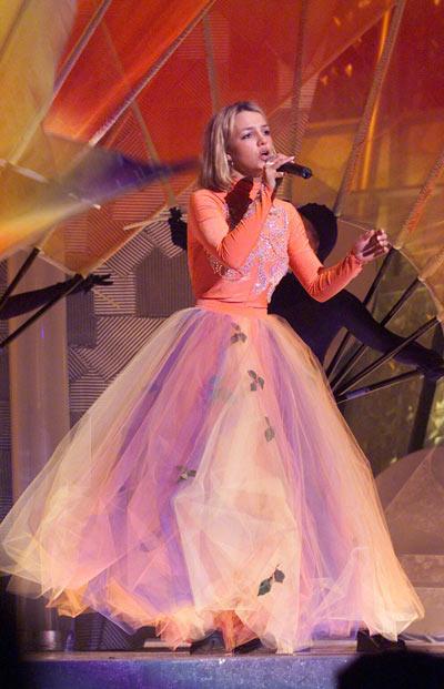 Бритни Спирс, 23 февраля 2000. Фото: Getty Images