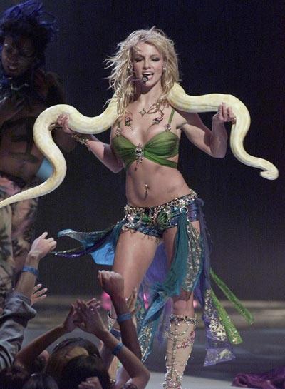 Бритни Спирс, 6 сентября 2001. Фото: Getty Images