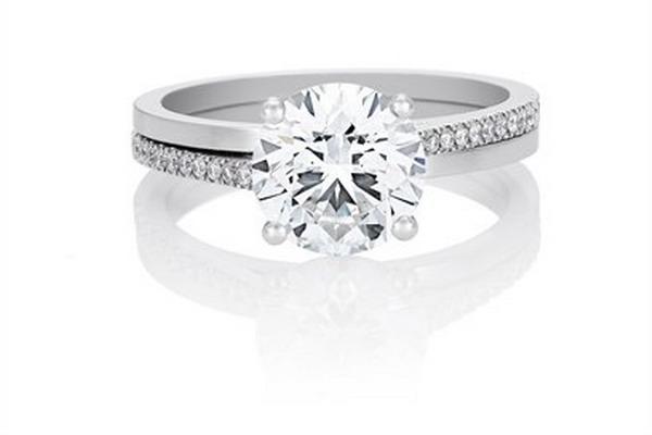 Обручальное кольцо от De Beers. Фото с сайта debeers.com
