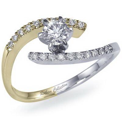 Обручальное кольцо от Rothem Collection. Фото с сайтa rothemcollection.com