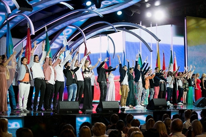«Новая волна - 2012» в Юрмале. Фото с сайта rigaonline.lv
