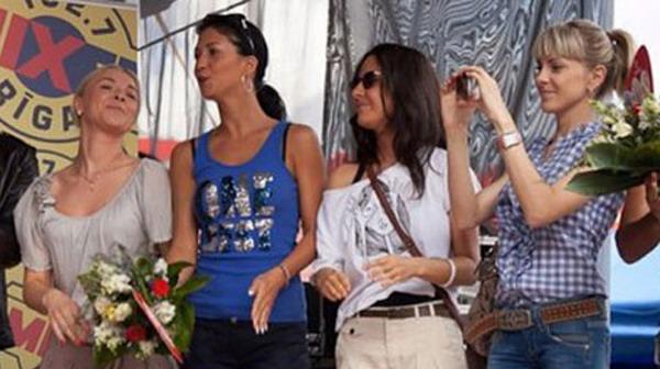 4 и 5 место поделили между собой Маша Собко (Украина) и группа N.A.O.M.I. (Россия). Фото группы N.A.O.M.I. с сайта rus.tvnet.lv