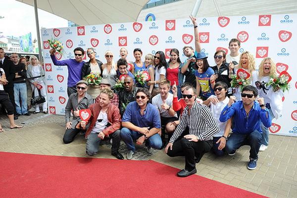 Организаторы и участники конкурса молодых исполнителей «Новая волна-2011». Фото с сайта flickr.com