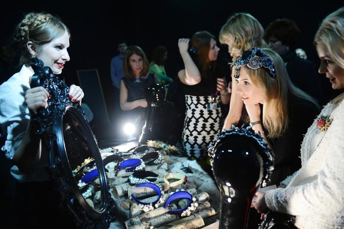 Презентация украшений на неделе моды от Mercedes-Benz в Москве. Фото: Ian Gavan/Getty Images for MBFW Russia