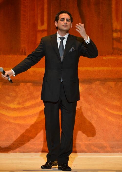 Оперный тенор Хуан Диего Флорес на концерте Latino в честь инаугурации 2013, Вашингтон, 20 января 2013 года. Фото: Rick Diamond/Getty Images for Latino Inaugural 2013