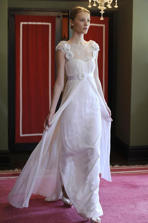 Свадебные платья Temperley 2014 представили в Нью-Йорке. Фото: Fernanda Calfat/Getty Images