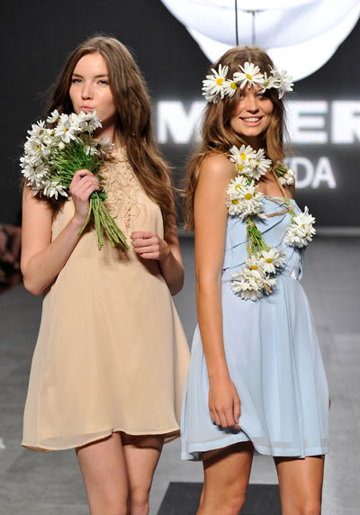 Коллекция Myer на Австралийской Неделе моды, 27 августа 2011 года в Сиднее, Австралия.    Фото: Stefan Gosatti/Getty Images