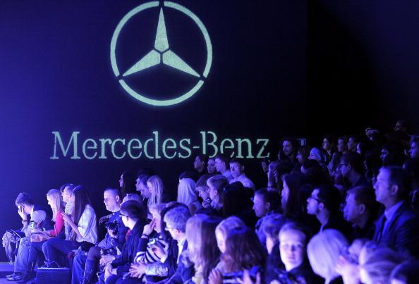 Отрытие Mercedes-Benz Fashion Week Russia 2011 в Москве, 31 марта 2011, Москва, Россия. Фото:  Pascal Le Segretain/Getty Images