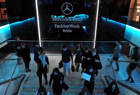 Отрытие Mercedes-Benz Fashion Week Russia  2011, 31 марта 2011, Москва, Россия. Фото:  Pascal Le Segretain/Getty Images