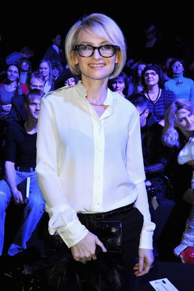 Эвелина Хромченко на приеме в честь отрытия Mercedes-Benz Fashion Week Russia  2011, 31 марта 2011, Москва, Россия. Фото:  Pascal Le Segretain/Getty Images