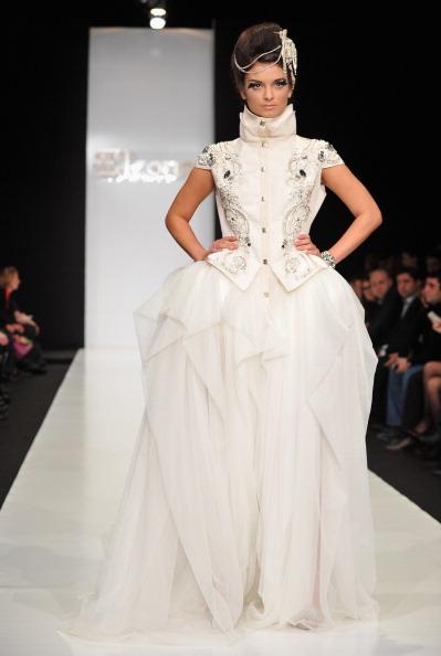 Показ Дома Моды «Элеонор» в рамках Mercedes-Benz Fashion Week Russia, 2 апреля 2011, Москва, Россия.  Фото: Pascal Le Segretain/Getty Images