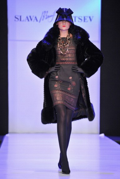 Mercedes-Benz Fashion Week Russia 2011-2012: коллекция Вячеслава Зайцева, 31 марта 2011, Москва, Россия. Фото: Pascal Le Segretain/Getty Images