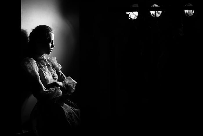 Чёрно-белые снимки фотографа Марка Нолана, сделанные на Фестивале моды Mercedes-Benz в Сиднее 2013, отражают альтернативный взгляд на показ мод. Фото: Mark Nolan/Getty Images