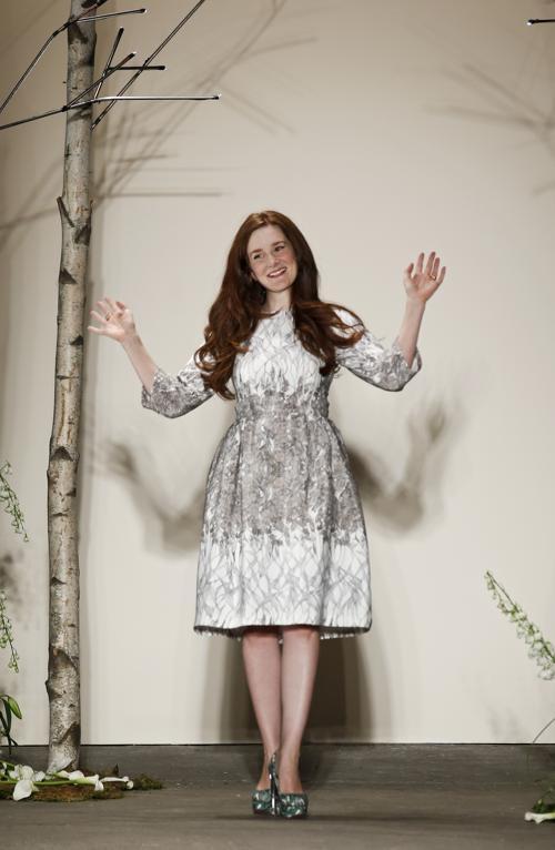 Дизайнер Джованна Рэндалл. 5 сентября, прошёл модный показ Honor во время осенней нью-йоркской Недели моды в центре искусств Eyebeam в Нью-Йорке, США. Итальянский дизайнер Джованна Рэндалл представила свою новую коллекцию. Фото: Brian Ach/Getty Images