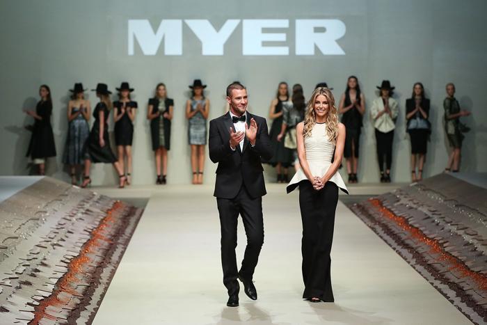 В Австралии состоялся показ коллекции Myer весна-лето 2014. Фото: Brendon Thorne/Getty Images