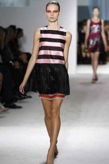 Показ коллекции Christian Dior весна-лето 2012 г. Фото: FRANCOIS GUILLOT/AFP/GettyImages