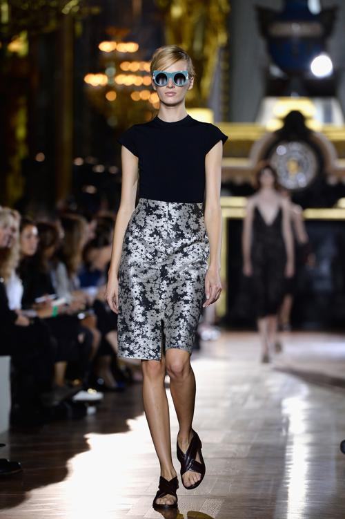 Стелла Макккартни продемонстрировала 30 сентября 2013 года новую коллекцию весенне-летнего сезона 2014 года на парижской Неделе моды. Фото: Pascal Le Segretain/Getty Images