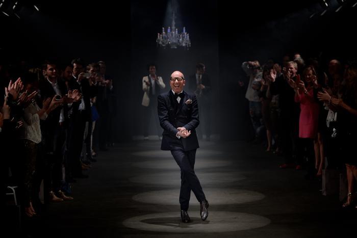 Известный немецкий модельер Томас Рат представил коллекцию Thomas Rath 2014 на Неделе моды в Дюссельдорфе (Германия) 2 февраля 2014 года. Фото: Sascha Steinbach/Getty Images