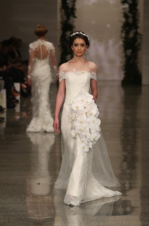Демонстрация свадебных коллекции ведущих новозеландских брендов прошла на Неделе моды в Окленде 3 сентября 2013 года. Фото: Sandra Mu/Getty Images